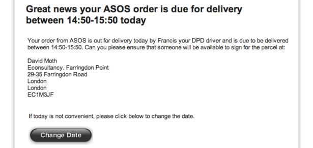 Как отменить заказ на Асос