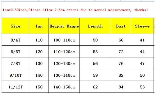 Как определить детский размер на Алиэкспресс, что значит 2Т, 3Т, 4Т