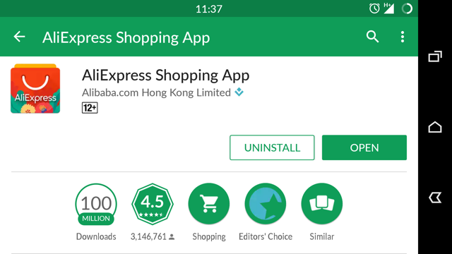 Как получить кэшбэк на Алиэкспресс в мобильном приложении