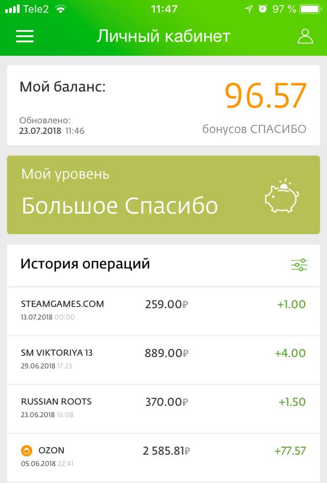 Как оплачивать бонусами Спасибо от Сбербанка в Кари: условия, сколько процентов